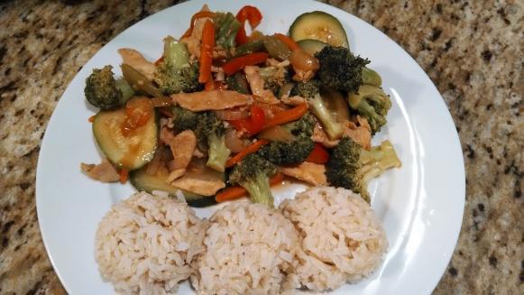 Stir Fry TJs Rice