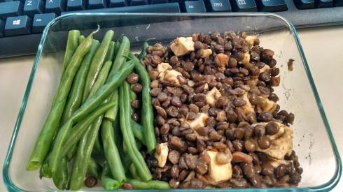 Lentils Chicken Green Beans