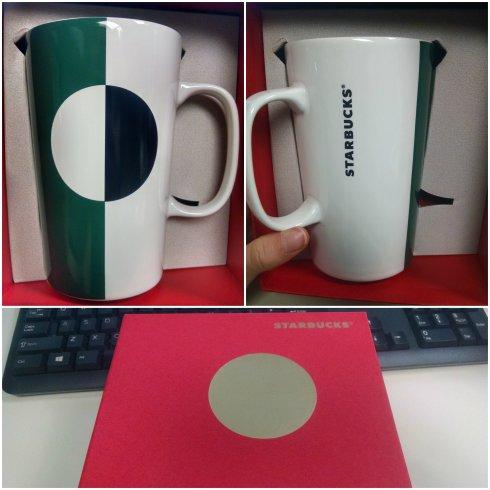 Sleek Starbucks Mug
