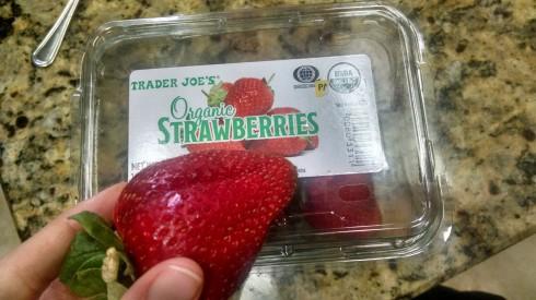 TJ's Organic Strawberries