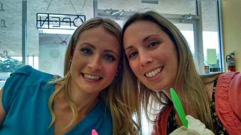 Ice Cream Date with Kristin