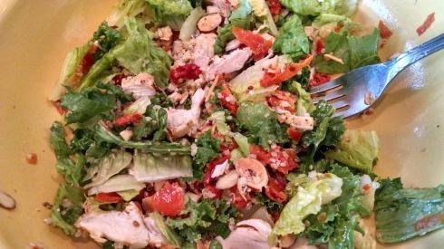 Panera Mediterranean Chicken & Quinoa Salad