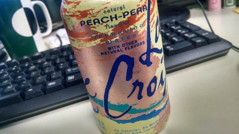 Peach Pear La Croix