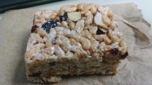 Alton Brown's Brown Rice Crispy Treat