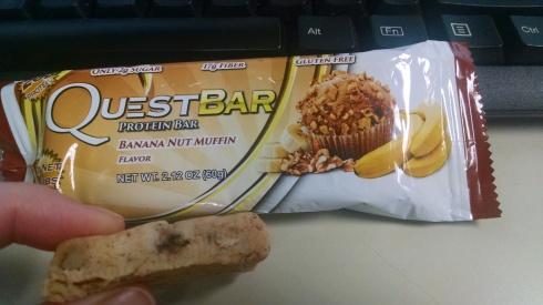 Banana Bread Quest Bar