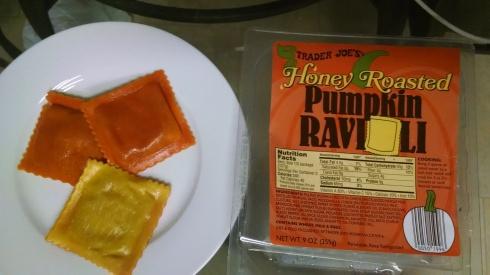Trader joe's Pumpkin Ravioli