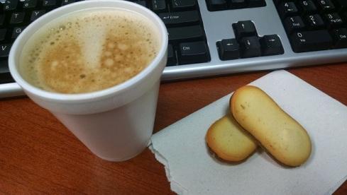 Nespresso and Pumpkin Milanos